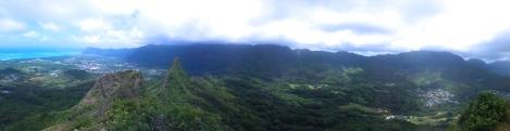 Views of peak 3 and beyond.
