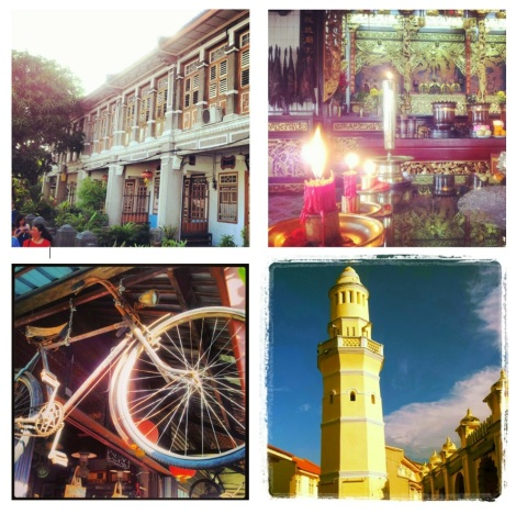 Some cool things i photographed ever so professionally on my camera phone. Old buildings, the alter at a buddhist temple, an old bike shop and the tower at a mosque