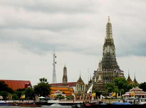 Wat Arun from the river