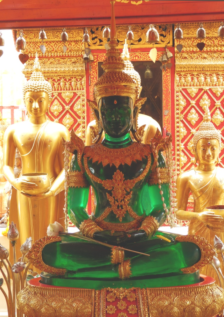 The fabled Jade Buddha