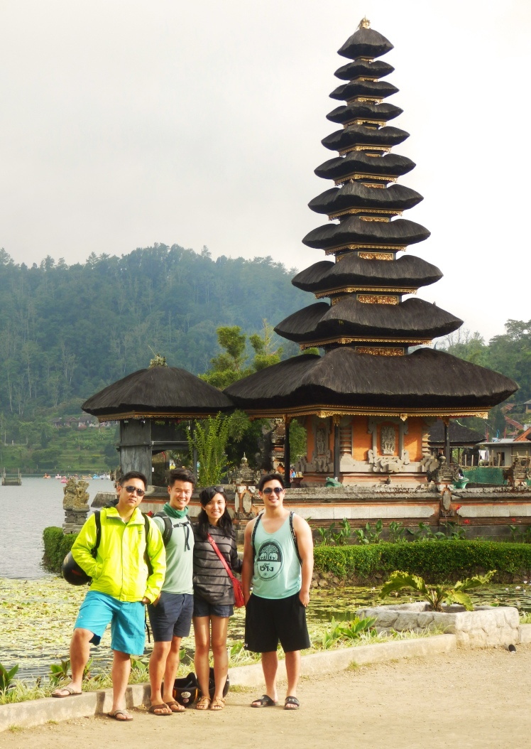 Our first directional temple in Bali!