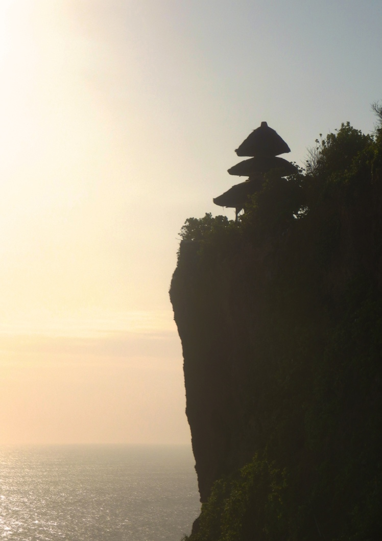 Uluwatu of in the distance. I hear there are crazy ass monkeys here so make sure you keep your stuff secure