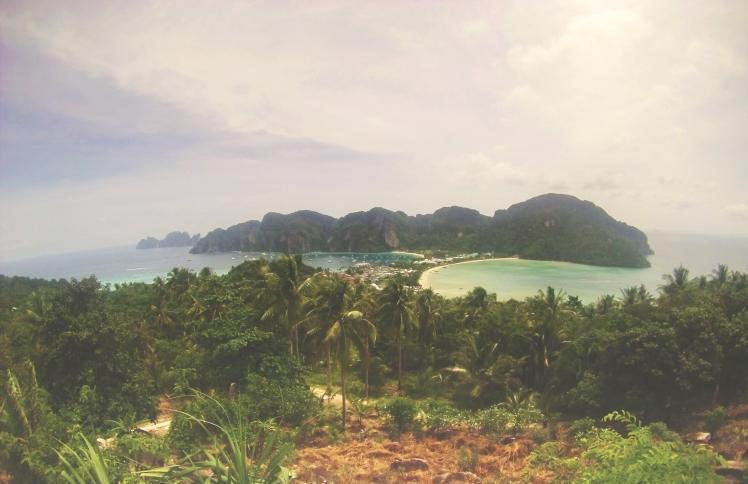 A nice wide angled shot of Koh Phi Phi