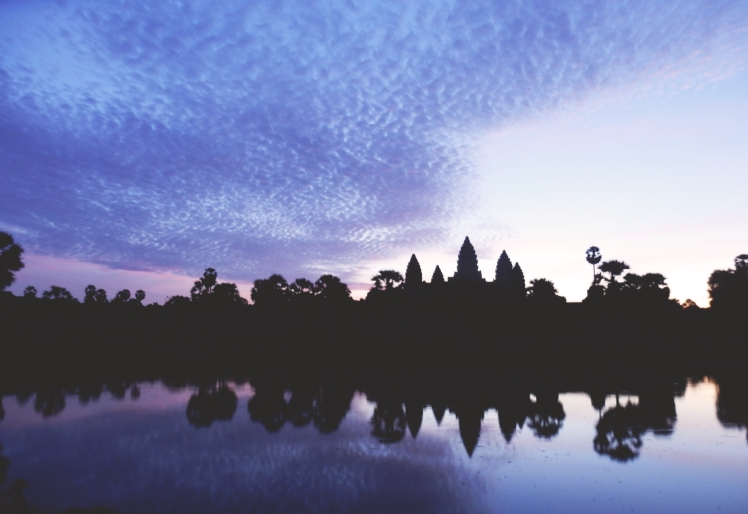 Sunrise from Angkor Wat