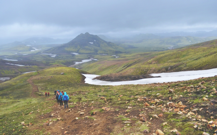 The final stretch towards Aflavatn