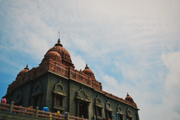 The Kumari Ammam temple at Kanya kummari