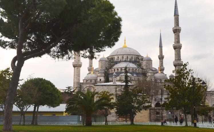 Exterior Blue Mosque