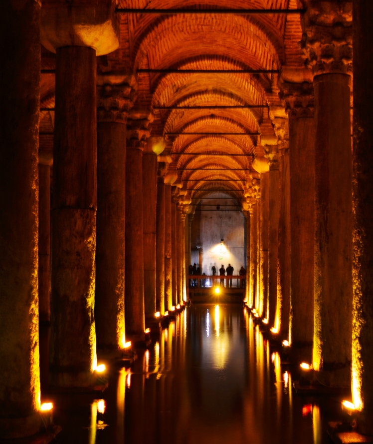 Basilica Cistern - Where the Romans kept all their water