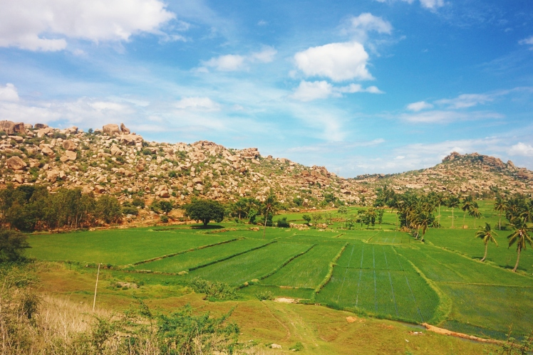 The biblical landscape of Hampi