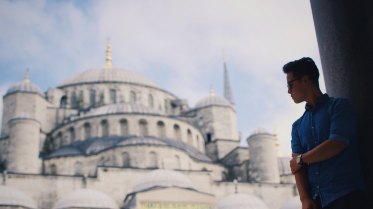 The very grand Sultanahment mosque